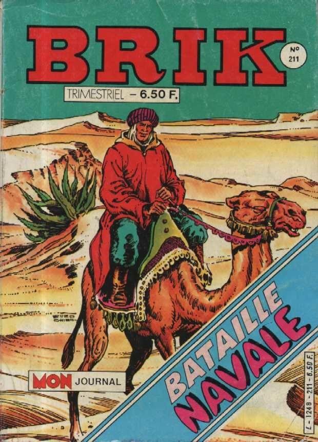 Couverture de Brik (Mon journal) -211- La cage aux tigres