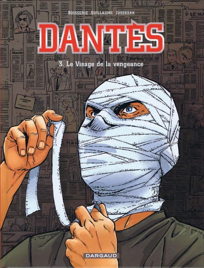 Couverture de Dantès -3- Le Visage de la vengeance