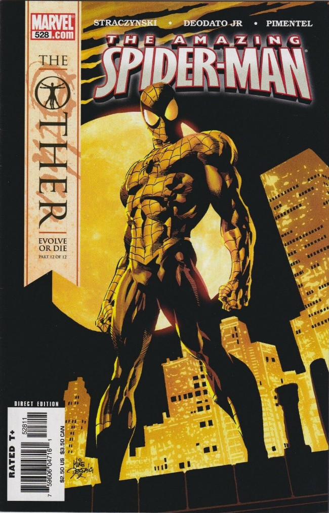 Couverture de Amazing Spider-Man (The) Vol.2 (Marvel comics - 1999) -528- The Other Evolve Or Die Part 12 of 12