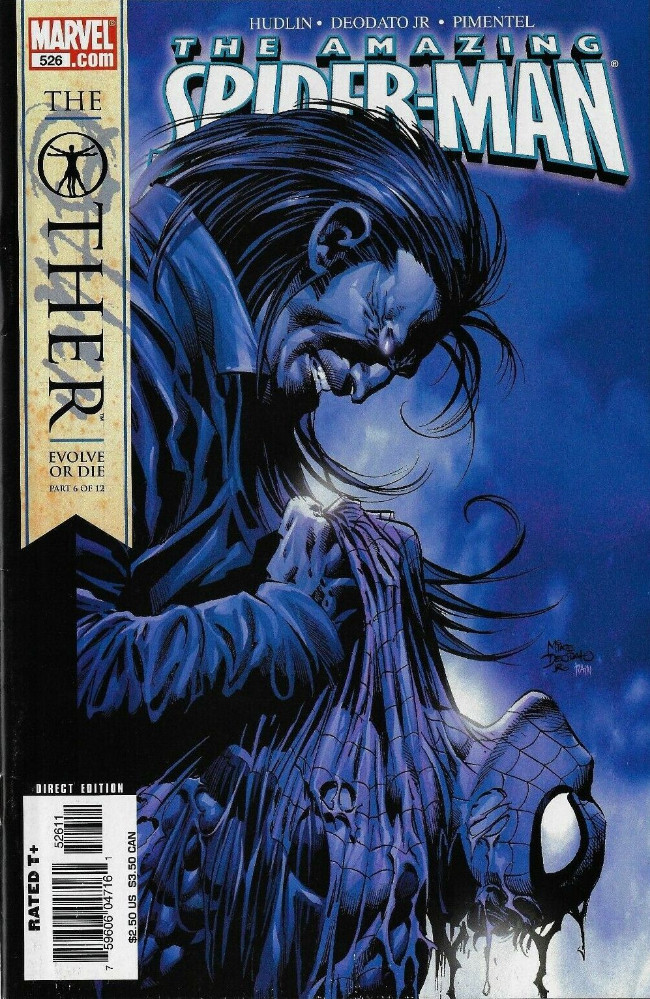 Couverture de Amazing Spider-Man (The) Vol.2 (Marvel comics - 1999) -526- The Other Evolve Or Die Part 6 of 12