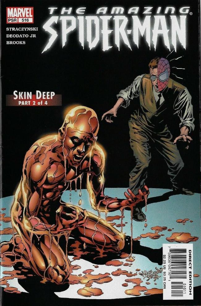 Couverture de Amazing Spider-Man (The) Vol.2 (Marvel comics - 1999) -516- Skin deep part 2