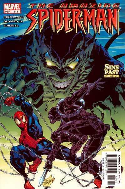 Couverture de Amazing Spider-Man (The) Vol.2 (Marvel comics - 1999) -513- Sins Past Part Five
