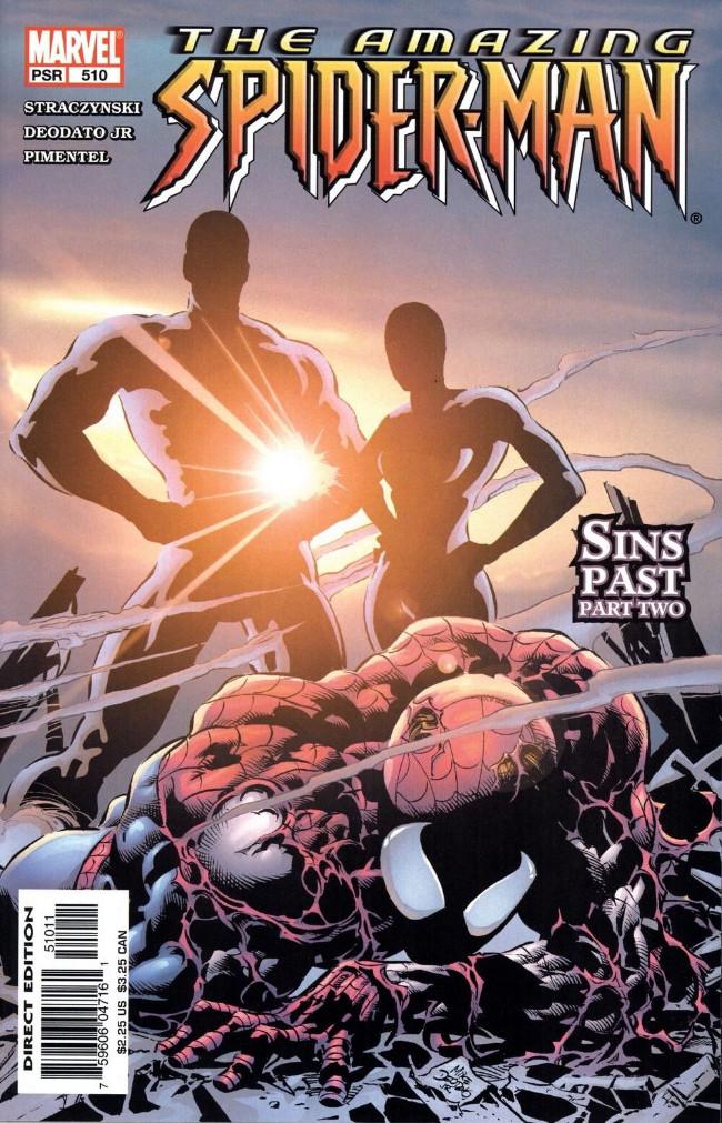 Couverture de Amazing Spider-Man (The) Vol.2 (Marvel comics - 1999) -510- Sins Past Part Two