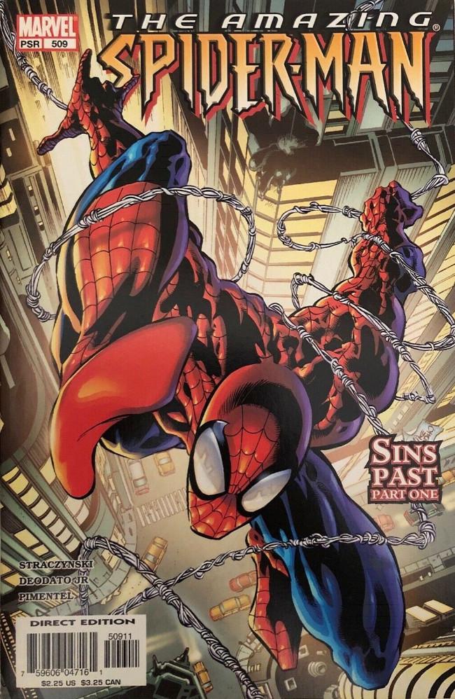 Couverture de Amazing Spider-Man (The) Vol.2 (Marvel comics - 1999) -509- Sins Past Part One