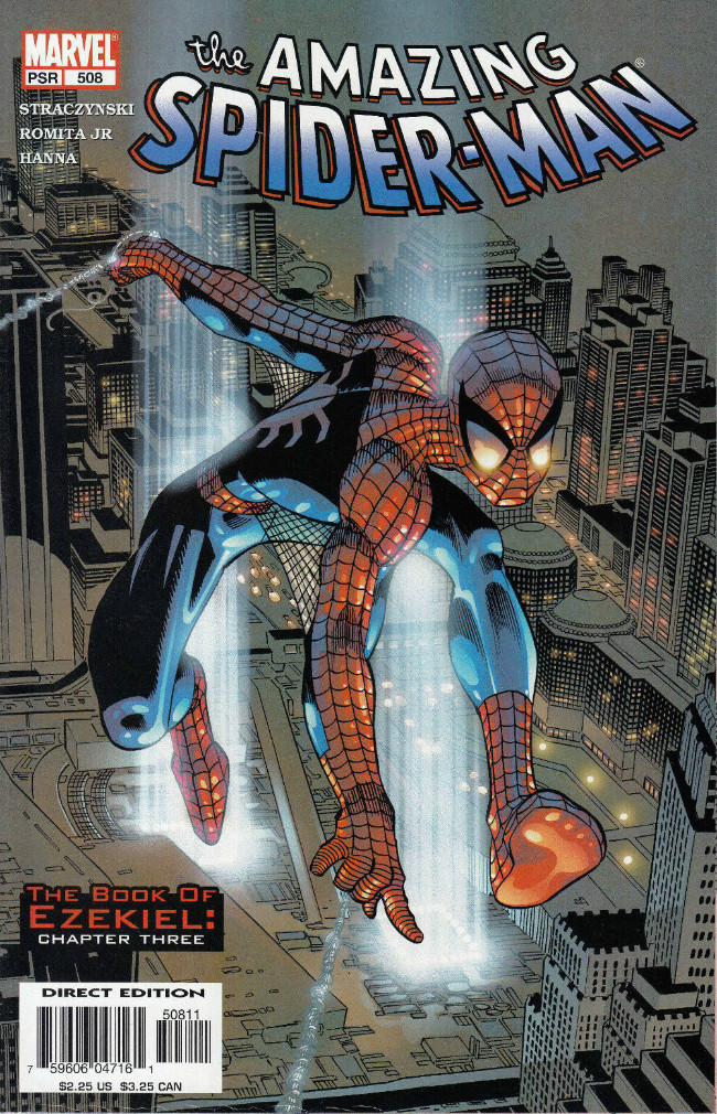 Couverture de Amazing Spider-Man (The) Vol.2 (Marvel comics - 1999) -508- The Book of Ezekiel: Chapter Three