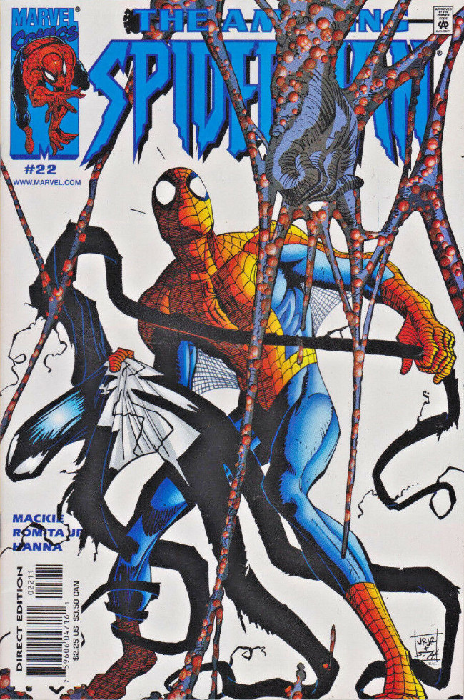 Couverture de Amazing Spider-Man (The) Vol.2 (Marvel comics - 1999) -22- Distinguished gentlemen from New York part 1