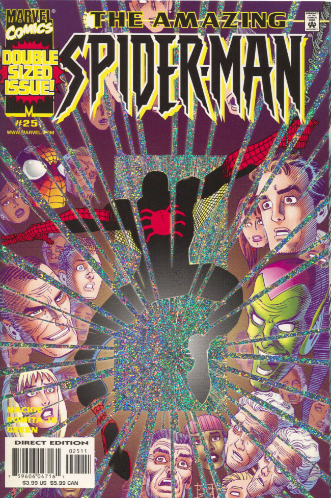 Couverture de Amazing Spider-Man (The) Vol.2 (Marvel comics - 1999) -25- Darkness calling
