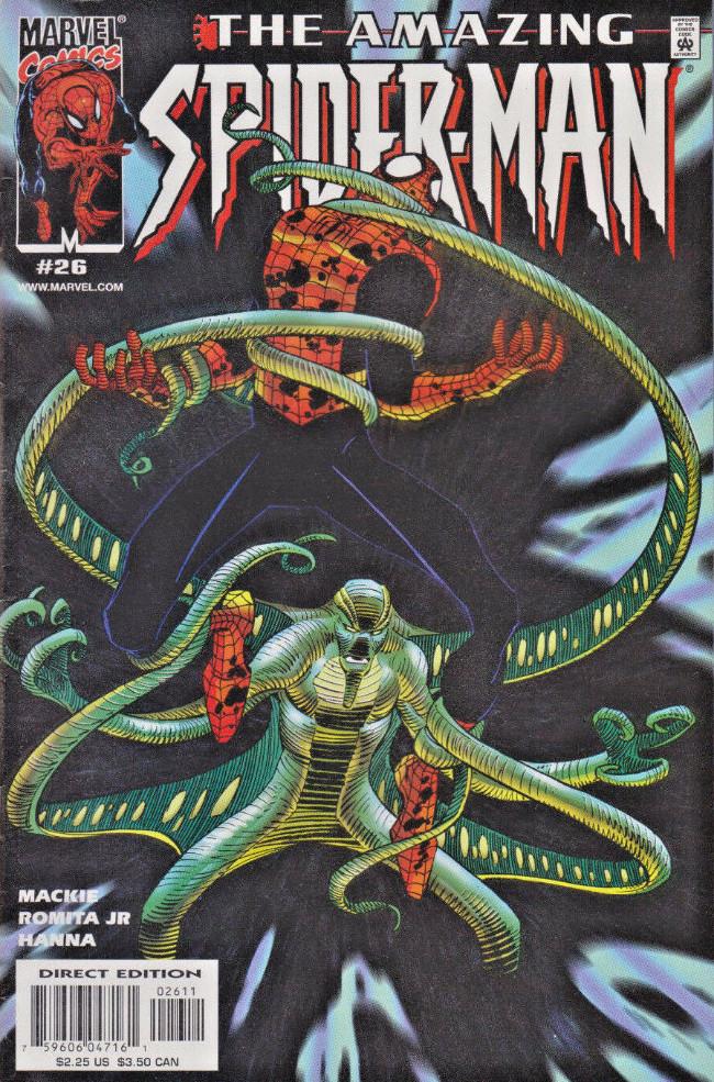 Couverture de Amazing Spider-Man (The) Vol.2 (Marvel comics - 1999) -26- The mask
