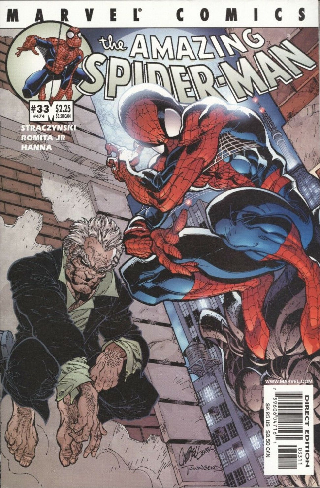 Couverture de Amazing Spider-Man (The) Vol.2 (Marvel comics - 1999) -33474- All fall down