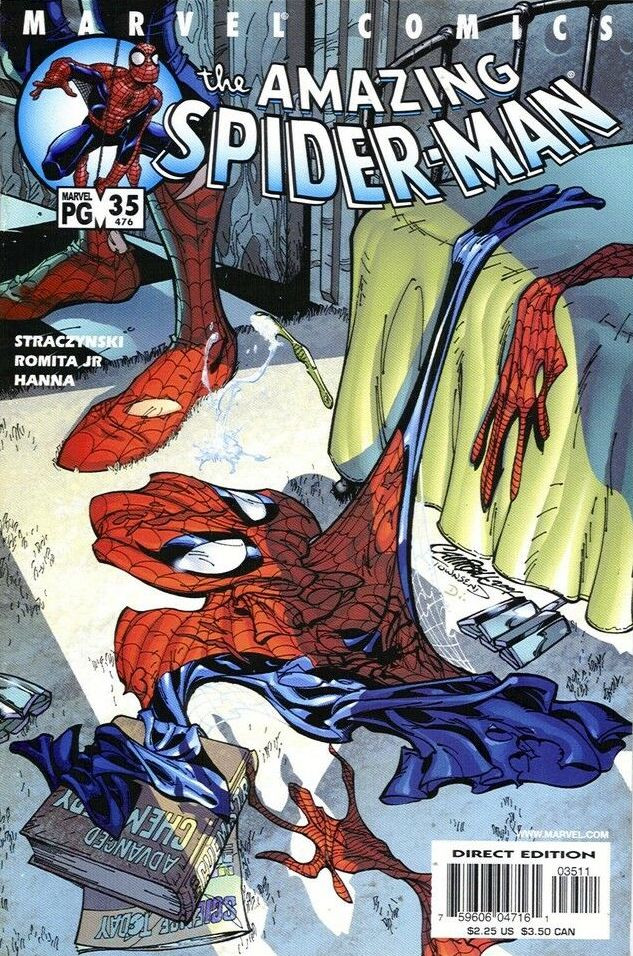 Couverture de Amazing Spider-Man (The) (1999) -35476- Coming out