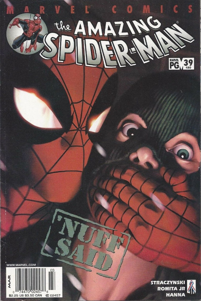 Couverture de Amazing Spider-Man (The) Vol.2 (Marvel comics - 1999) -39480- Meanwhile