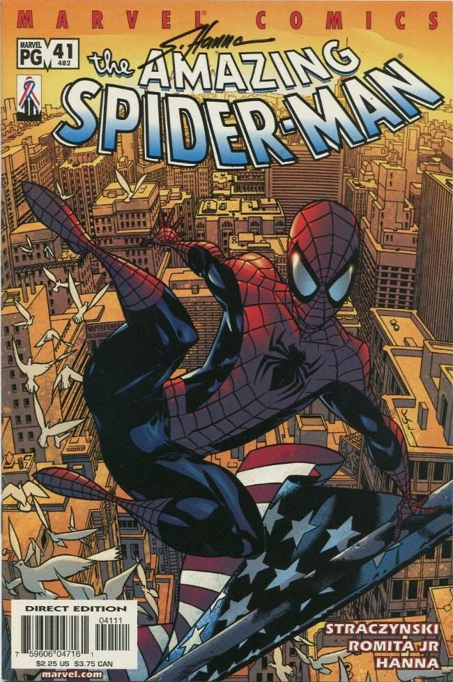 Couverture de Amazing Spider-Man (The) Vol.2 (Marvel comics - 1999) -41482- Looking back