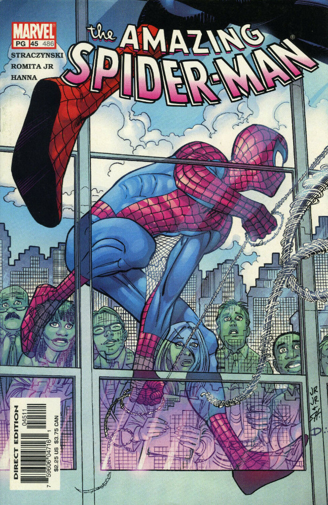 Couverture de Amazing Spider-Man (The) Vol.2 (Marvel comics - 1999) -45486- Until the stars turn cold