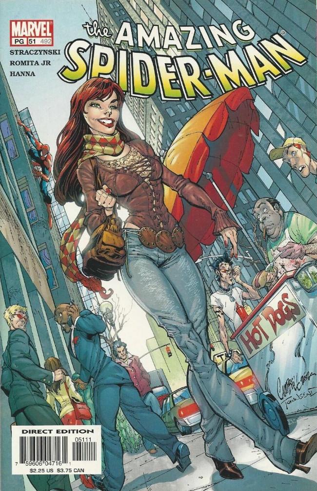 Couverture de Amazing Spider-Man (The) Vol.2 (Marvel comics - 1999) -51492- Digger