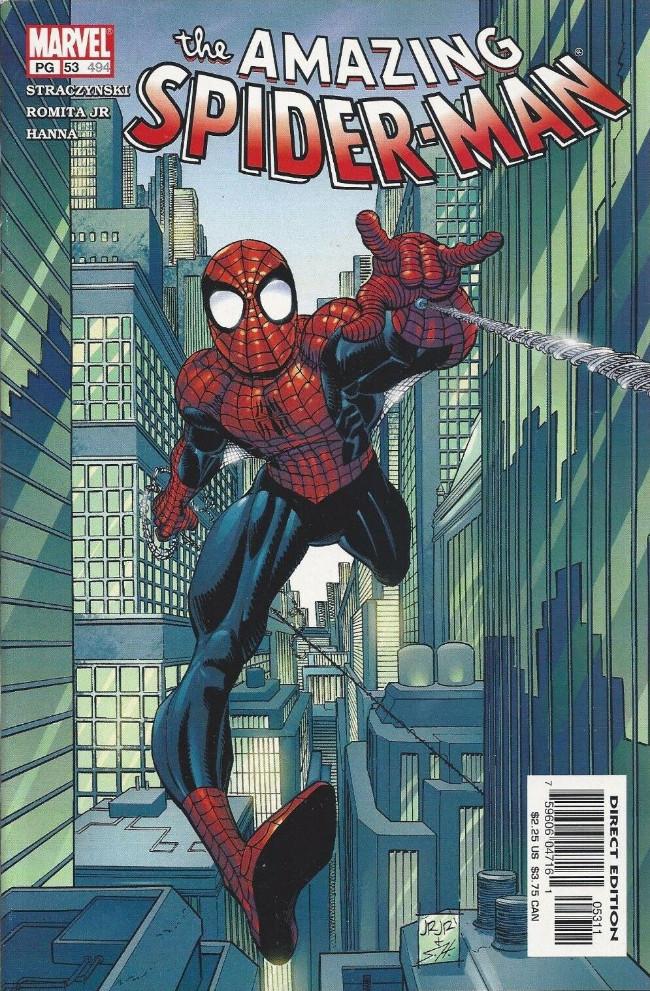 Couverture de Amazing Spider-Man (The) Vol.2 (Marvel comics - 1999) -53496- Parts and pieces