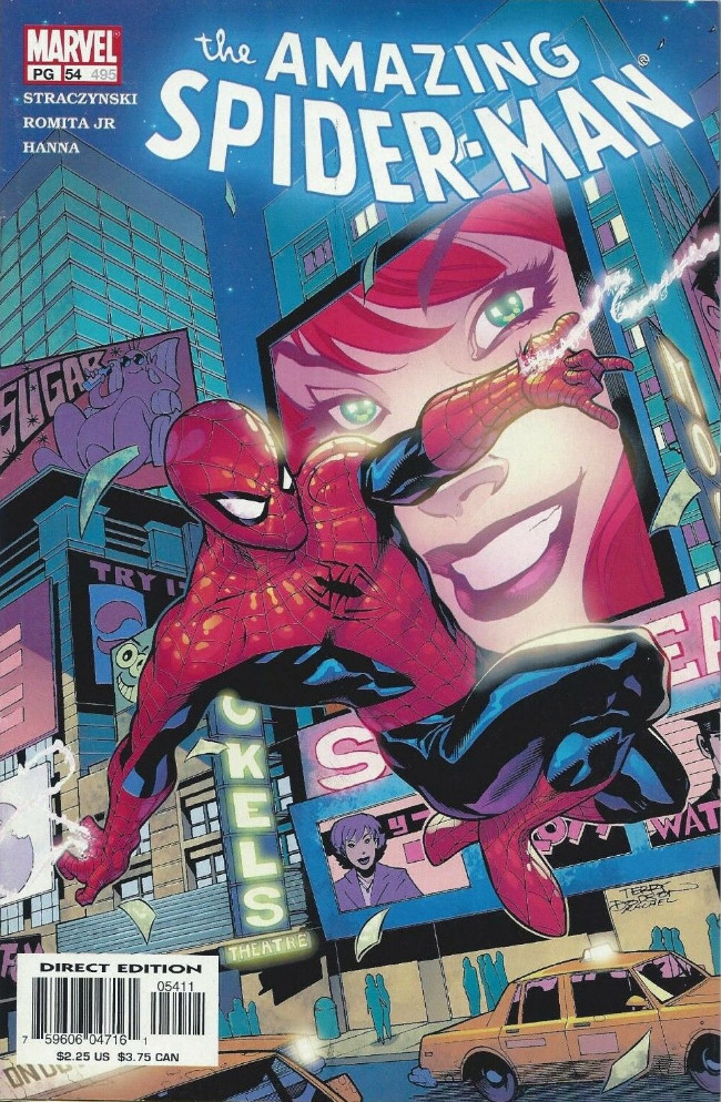 Couverture de Amazing Spider-Man (The) Vol.2 (Marvel comics - 1999) -54495- The Balancing of Karmic Accounts