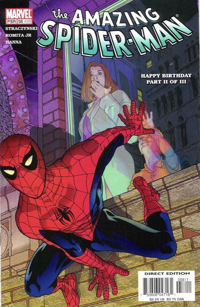 Couverture de Amazing Spider-Man (The) Vol.2 (Marvel comics - 1999) -58499- Happy Birthday Part II of III