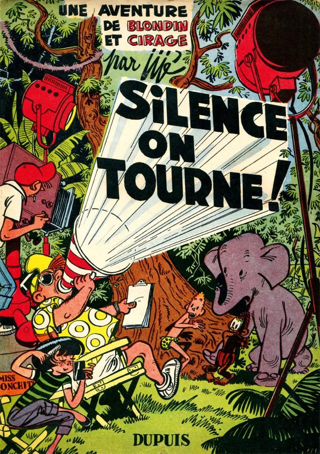 Couverture de Blondin et Cirage -8- Silence on tourne !