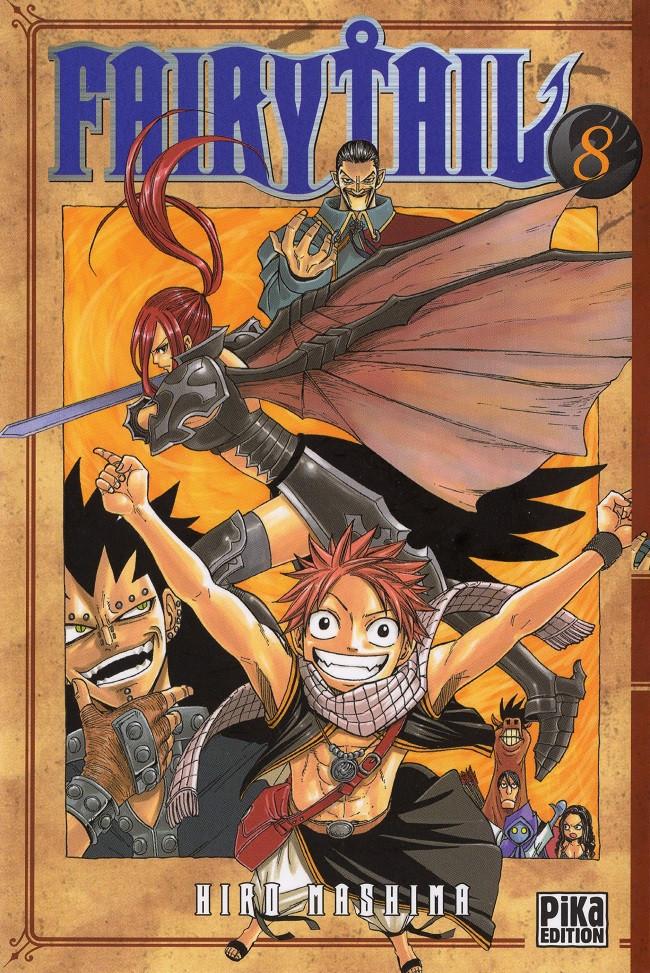 Couverture de Fairy Tail -8- Tome 8