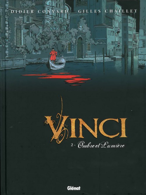 Couverture de Vinci -2- Ombre et Lumière
