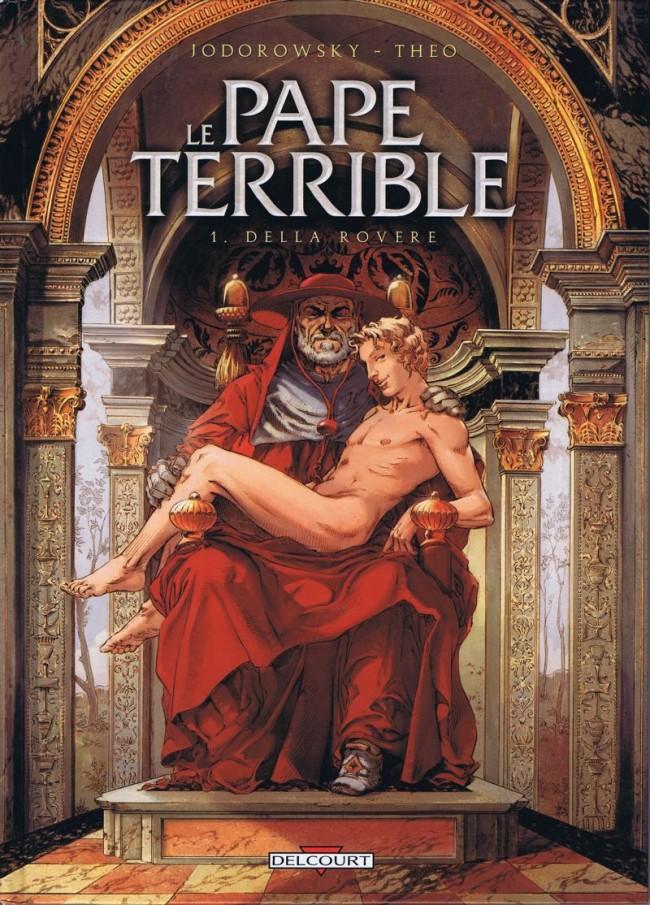 Couverture de Le pape terrible -1- Della Rovere
