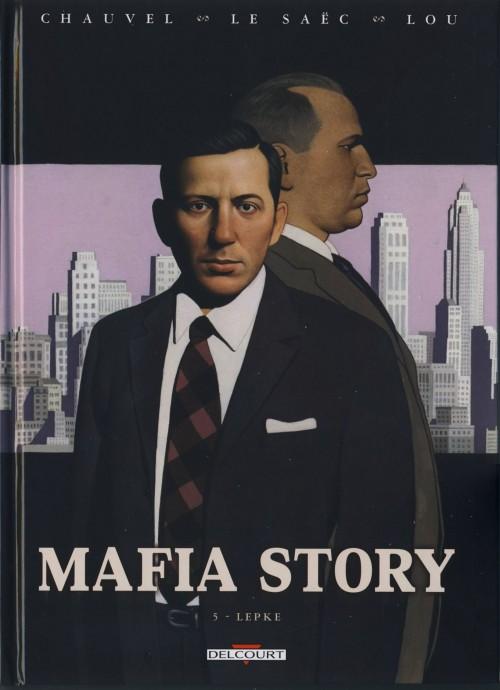 Couverture de Mafia story -5- Lepke