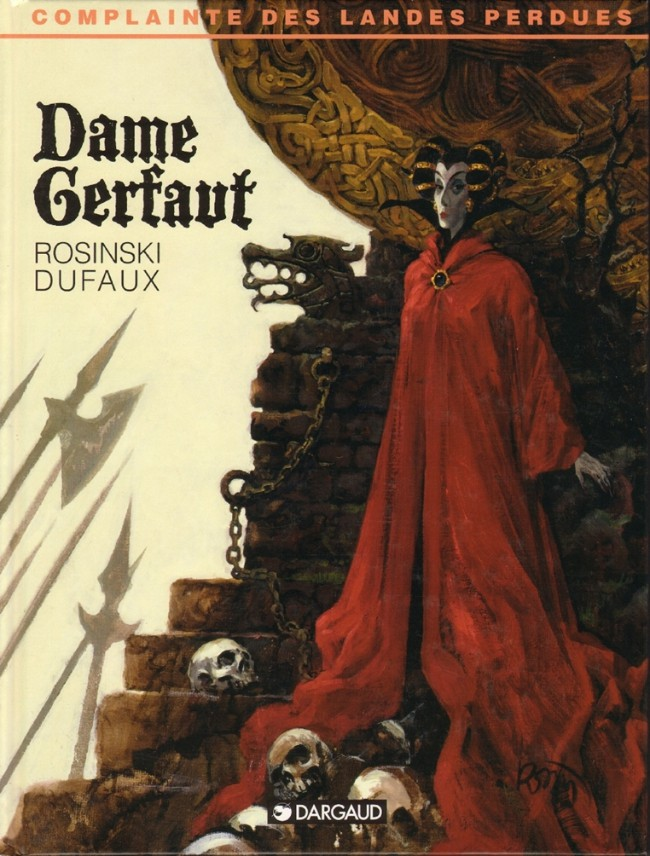 Couverture de Complainte des Landes perdues -3- Dame Gerfaut