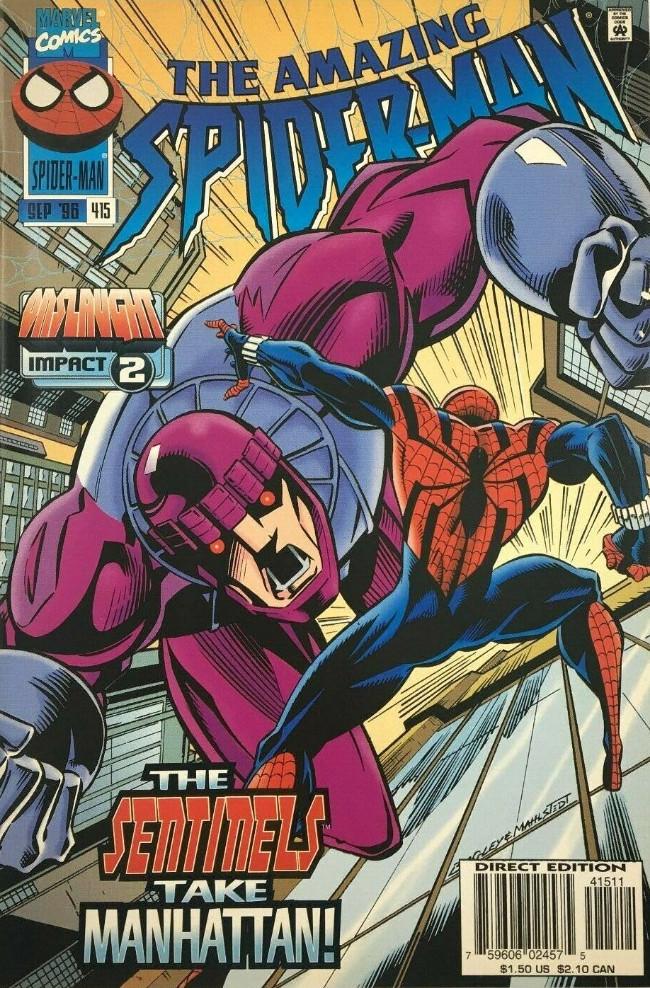 Couverture de The amazing Spider-Man Vol.1 (Marvel comics - 1963) -415- Siege