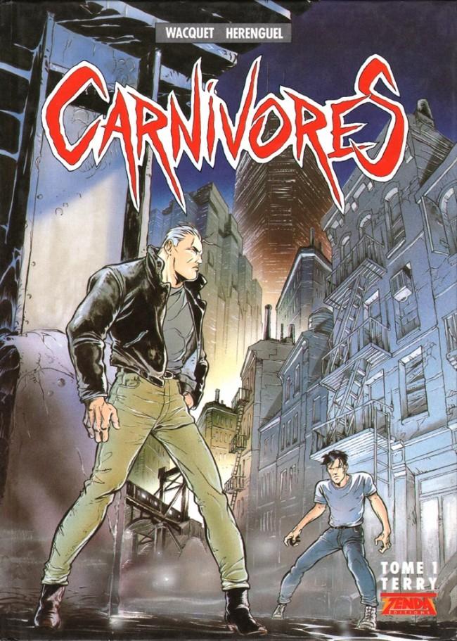 Couverture de Carnivores -1- Terry