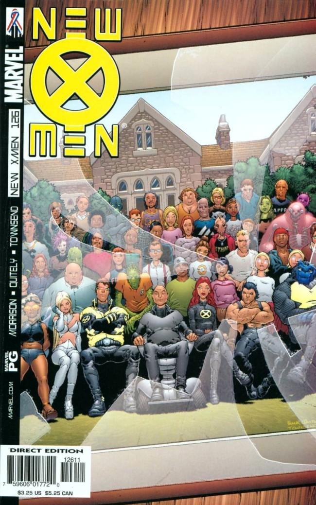 Couverture de New X-Men (2001) -126- All hell