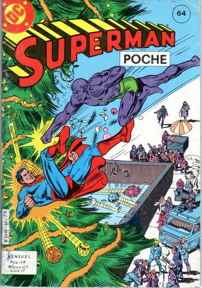 Couverture de Superman (Poche) (Sagédition) -64- Le dernier Noël de Superman