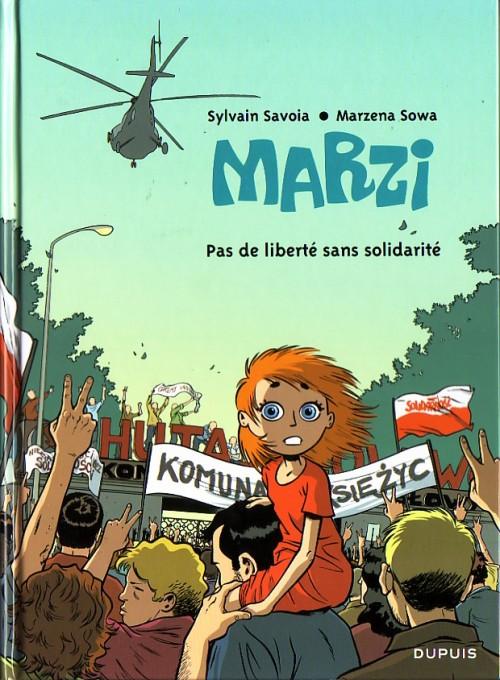 Couverture de Marzi -5- Pas de liberté sans solidarité