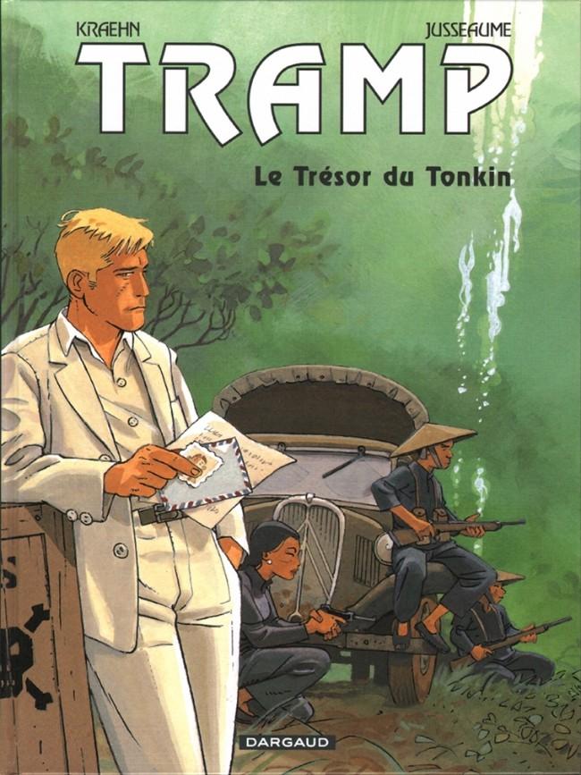 Couverture de Tramp -9- Le Trésor du Tonkin