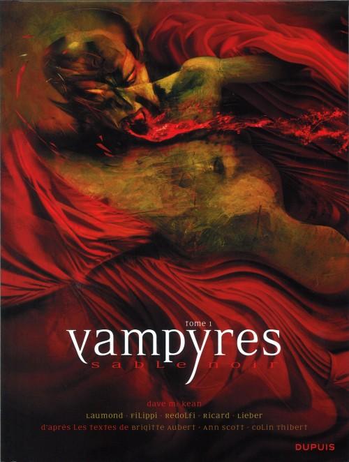 Couverture de Vampyres - Sable noir -1- Tome 1