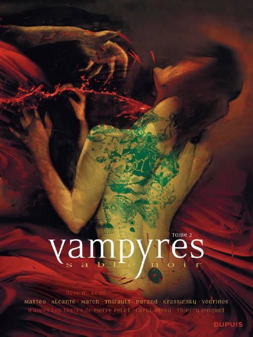 Vampyres Sable noir Tomes 1 et 2 version PDF