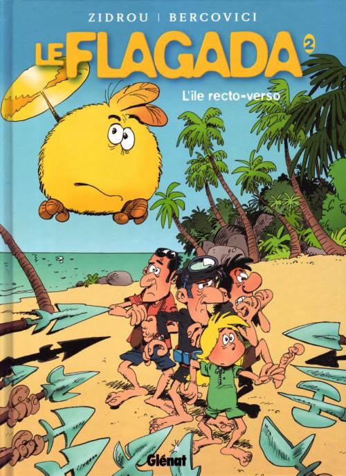 Couverture de Le flagada - Nouvelle série -2- L'île recto-verso