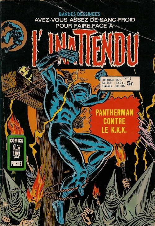 Couverture de L'inattendu (Arédit) -12- Pantherman contre le K.K.K.