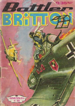 Couverture de Battler Britton -36- La charge maudite