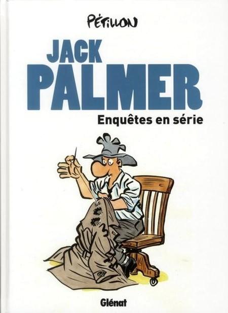 Couverture de Jack Palmer -INT- Enquêtes en série