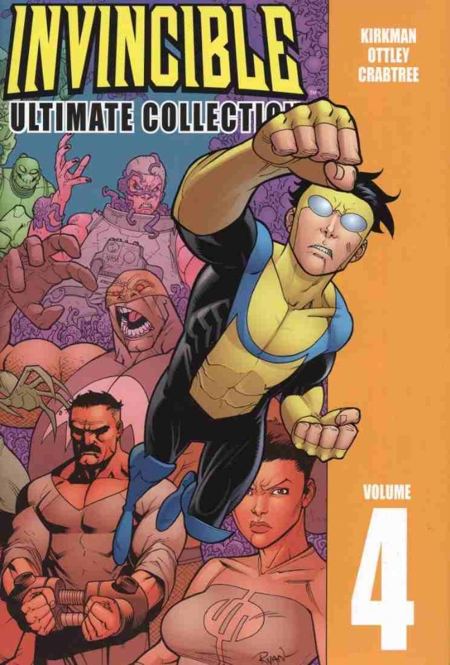 Couverture de Invincible: The Ultimate Collection (2003) -INT04- Volume 4