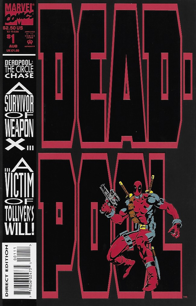 Couverture de Deadpool: The circle chase (1993) -1- The circle chase round 1 : ducks in a row