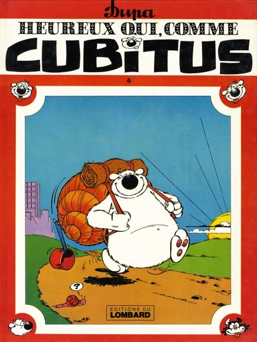 Couverture de Cubitus -6- Heureux qui, comme Cubitus