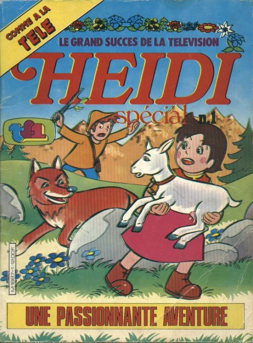 Couverture de Heidi spécial -1- Une passionante aventure