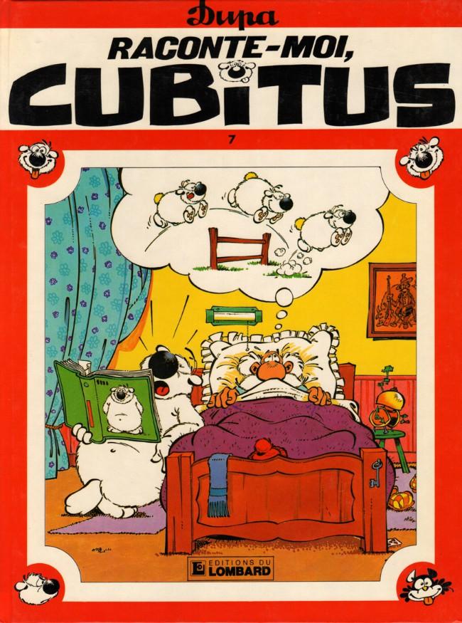 Couverture de Cubitus -7- Raconte-moi, Cubitus