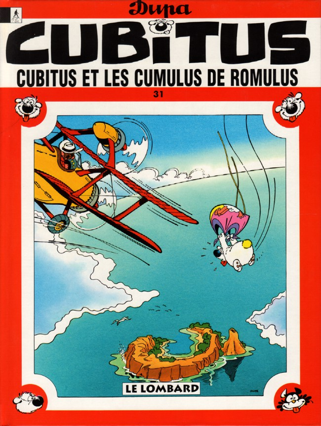 Couverture de Cubitus -31- Cubitus et les cumulus de Romulus