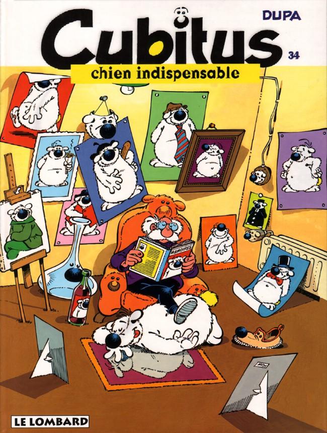 Couverture de Cubitus -34- Cubitus chien indispensable