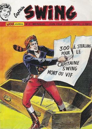 Couverture de Capt'ain Swing! (2e série - Mon Journal) -3- La baie du tonnerre
