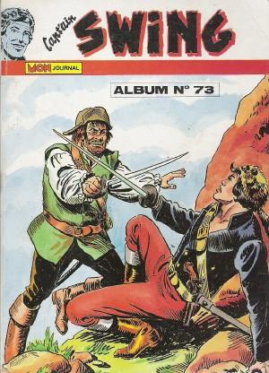 Couverture de Capt'ain Swing! (1re série) -Rec073- Album N°73 (du n°249 au n°251)