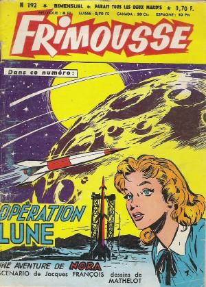 Couverture de Frimousse et Frimousse-Capucine -192- Opération lune