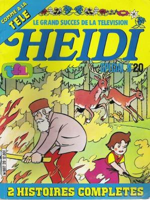 Couverture de Heidi spécial -20- La forêt en feu...